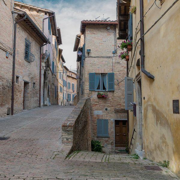 Straatje in Italië van arjan doornbos