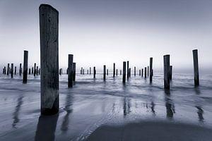 L'étonnante plage de Petten sur Rigo Meens