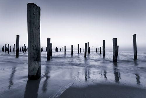 Het markante strand van Petten van Rigo Meens