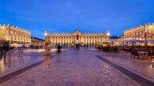 De verbazingwekkend indrukwekkende Place Stanislas van de plaats in Nancy