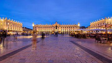 De verbazingwekkend indrukwekkende Place Stanislas van de plaats in Nancy van