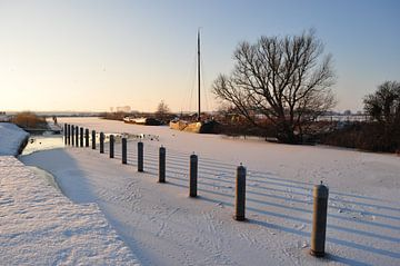 Winter in Holland van Henk de Boer