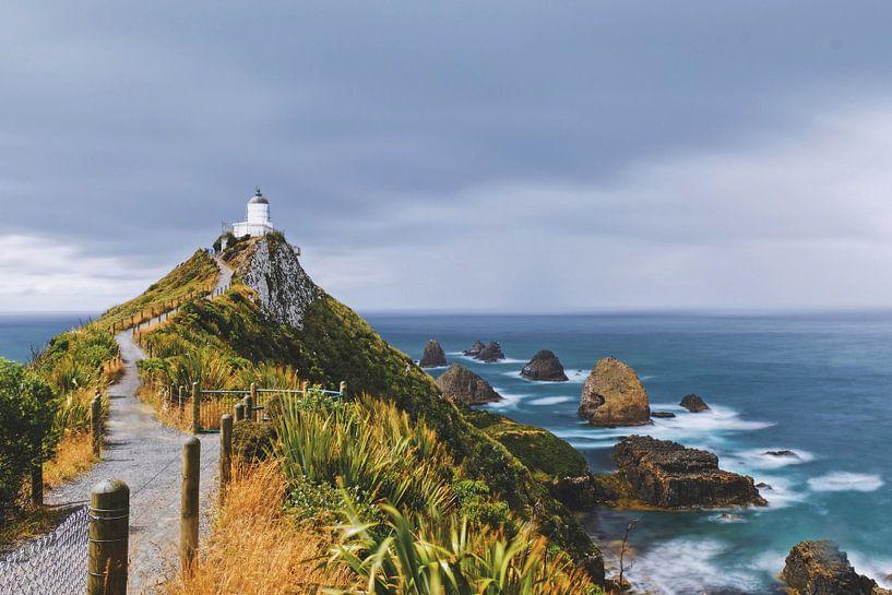 Nugget Point Lighthouse van Dyon Klaassen