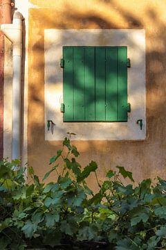 Groen en oker in de Roussillon, Provence van Christian Müringer