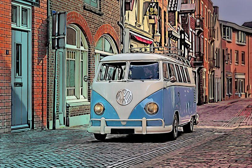 Volkswagen T1 Kastenwagen von Dennisart Fotografie