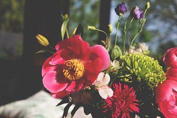 Wildblumen in der Sonne   Wildes Bouquet von Wendy Boon