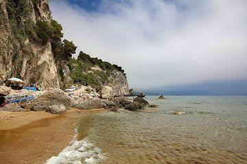 Mirtiotissa Strand auf Korfu von Hans Winterink