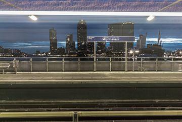 Metro Rijnhaven Rotterdam von AdV Photography