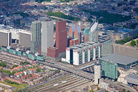 Luchtfoto Den Haag Ministeries gebied