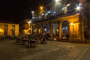 Nachtportret van Havanna van
