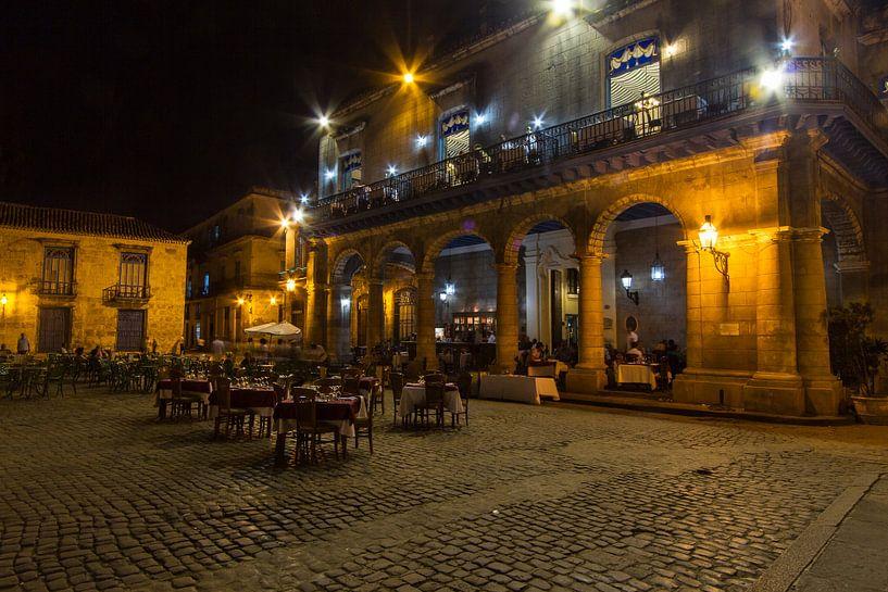Nachtportret van Havanna van Eddie Meijer