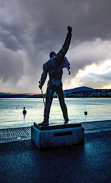 Freddie Mercury Queen Meer van Geneve Montreux van Evelien van der Horst