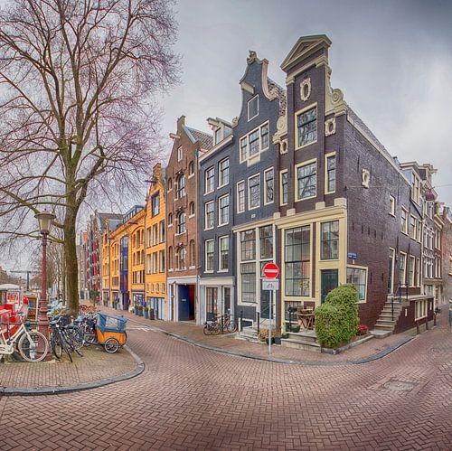 Brouwersgracht Amsterdam van Amsterdam Fotografie (Peter Bartelings)