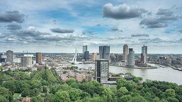 Rotterdam Skyline van Sonny Vermeer