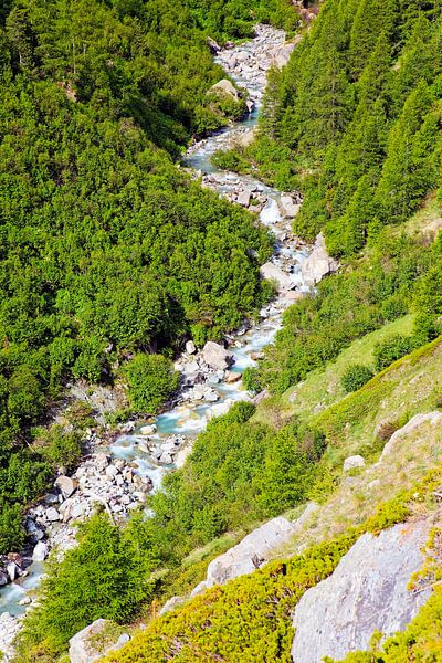 Berg rivier van Anton de Zeeuw