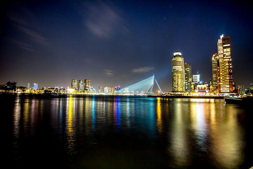 Rotterdam @night van Jeroen van Alten