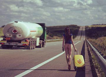 La route ...., Anri Croizet sur 1x