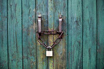 Gesloten deur van