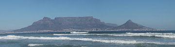 Panorama van Kaapstad van Nathalie van der Klei