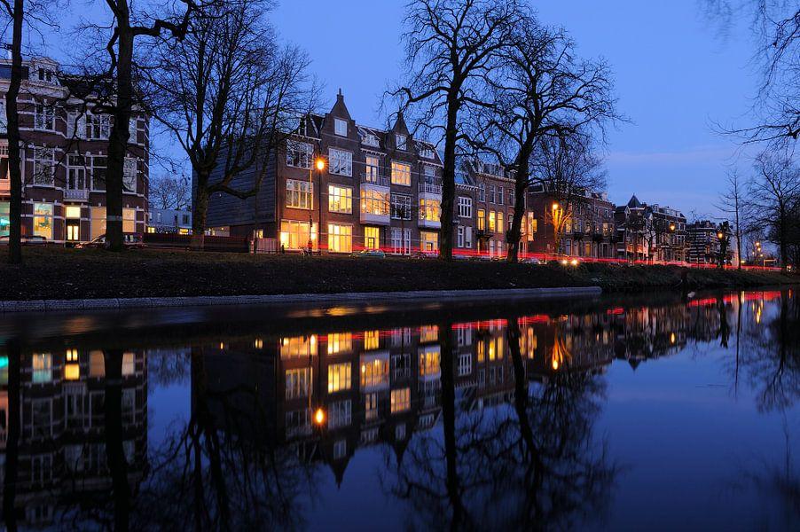 De Maliesingel ter hoogte van Zonnenburg in Utrecht (1)