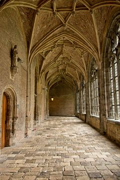 Klosterkorridore Middelburg Farbdenkmäler Stadt von Mariska Wondergem