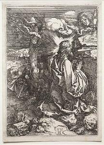 Christus auf dem Ölberg, Albrecht Dürer