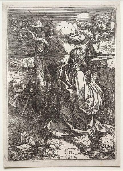 Christus auf dem Ölberg, Albrecht Dürer von De Canon