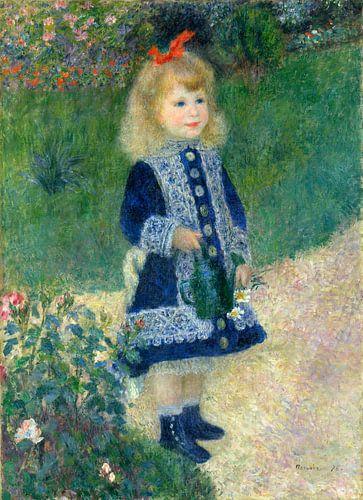 een meisje met een gieter, Auguste Renoir