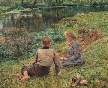 Kinder auf dem Land, Emile Claus