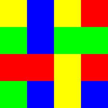 4x4 in 16   L-Type   V=029   P #01 van Gerhard Haberern