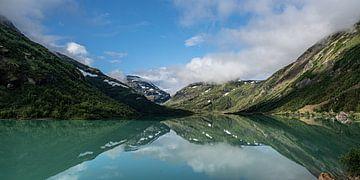 Spiegelung in Jotunheimen-Gebirge von Stefan Havadi-Nagy