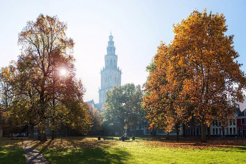 Martinitoren in de Herfst van Frenk Volt