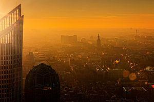 Den Haag van bovenaf van