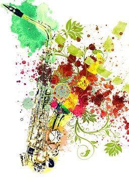 Saxophone van Peter Baak