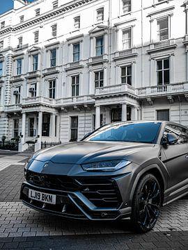 Lamborghini Urus in Londen van Matthijs Noordeloos
