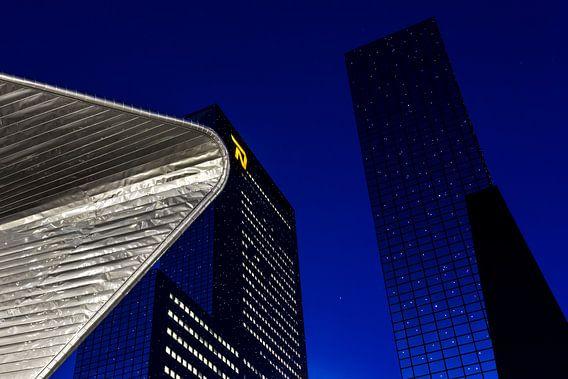 Rotterdam met sterren van Prachtig Rotterdam