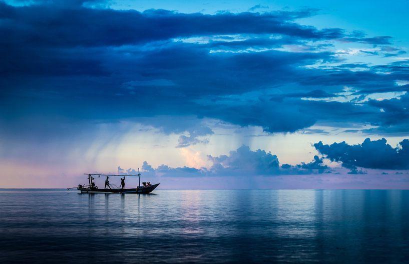 Bali, Seefischerei von Inge van den Brande