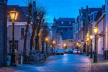 Leiden in Lockdown: Nieuwstraat von Carla Matthee