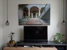 Klantfoto: Majestueus van Truus Nijland, op canvas