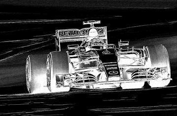 Nico Rosberg van Roland Klinge