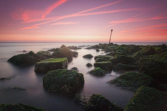 Scheveningen Sunset van Tom Roeleveld