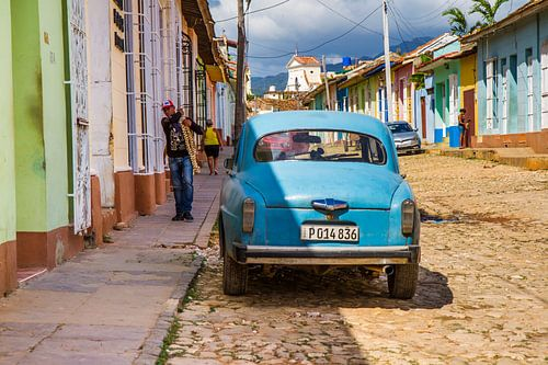 Oldtimer in Trinidad (Cuba) van Rob Altena