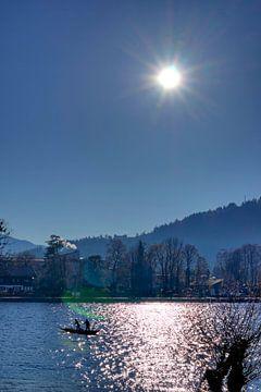 Paddeln am Tegernsee von Roith Fotografie