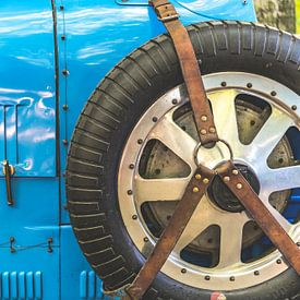 Bugatti Type 43 : détail des voitures de sport classiques sur Sjoerd van der Wal