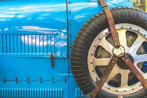 Bugatti Type 43 klassieke sportwagen detail