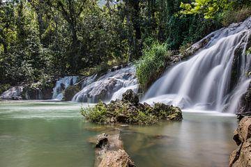Waterval in Cuba van Celina Dorrestein