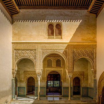 Alhambra de Granada, Palacio del Mexuar. van Hennnie Keeris