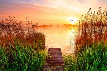 Un repos serein au bord du lac sur Eelco de Jong