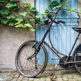 Stilleben mit Fahrrad. von Tilly Meijer