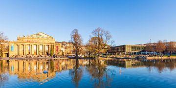 Staatstheater und Landtag in Stuttgart von Werner Dieterich